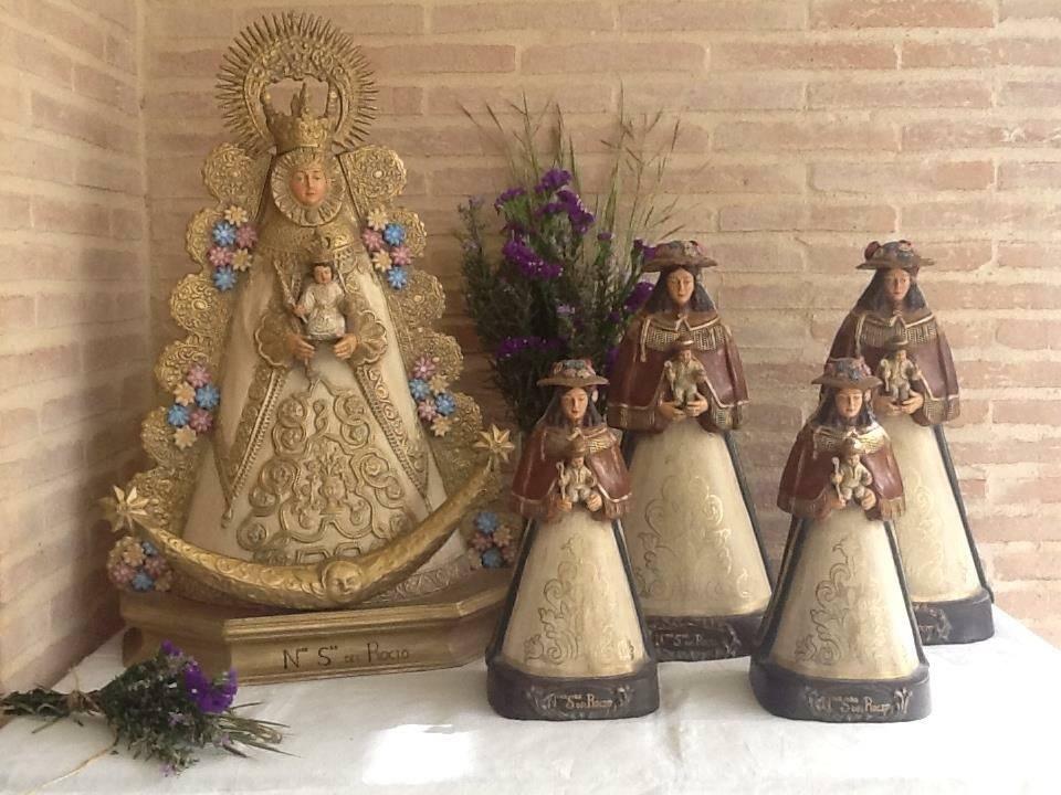 Artesanía para tu casa – Virgen del Rocío by Belén Alonso