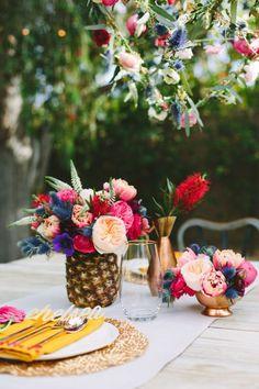 Disfruta la fruta – Centros de mesa frescos y originales
