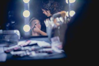 Rincón de maquillaje
