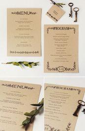 papelería boda