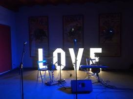 Love luminoso de fondo no faltó nuestro vídeo de visitas