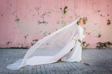 Vestido de novia de Inma Fraile + Taller de Diseño